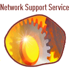 Network Support Service - service disruptions, support contacts...